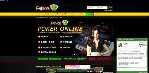 Situs Judi Bandar Ceme Online POKER-6